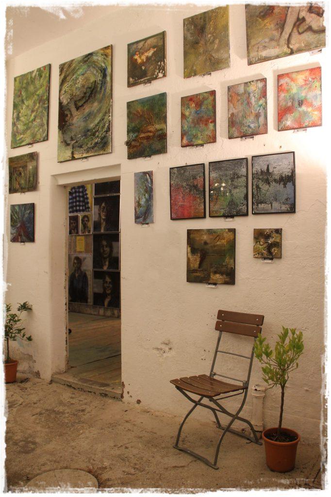 Kunstausstellung Freiburg Kunstscheune Berta-Ottenstein-Str. 3 Künstlerin Naturkunst Strukturrelief Strukturkunst Künstlerin